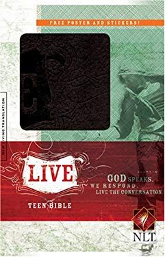 Live Bible-NLT [With Stickers and Poster] 9781414314426