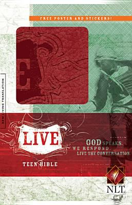 Live Bible-NLT [With Stickers and Poster] 9781414322803