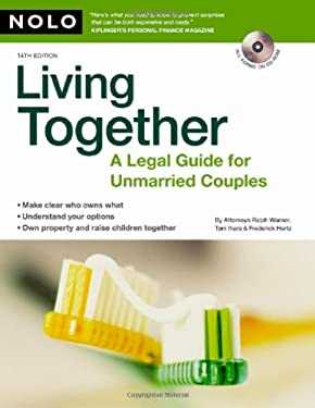 Living Together: A Legal Guide for Unmarried Couples [With CDROM] 9781413307559