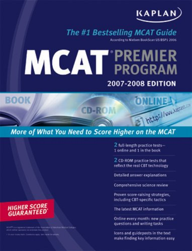 MCAT Premier Program [With CDROM] 9781419541971