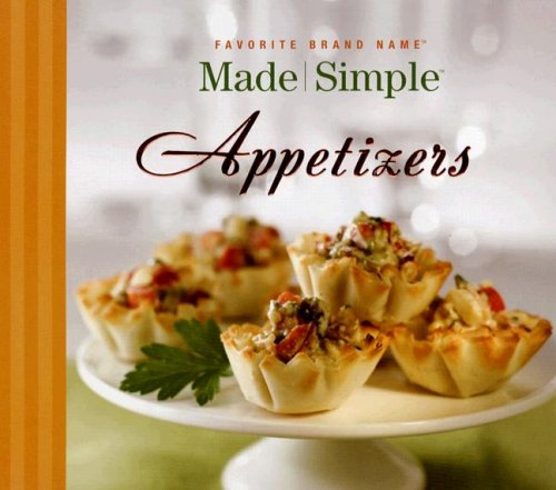 Made Simple Appetizers 9781412727969
