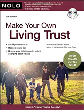 Make Your Own Living Trust [With CDROM] 9781413309331