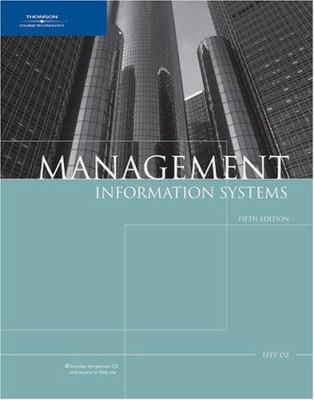 Management Information Systems, Fifth Edition 9781418835972