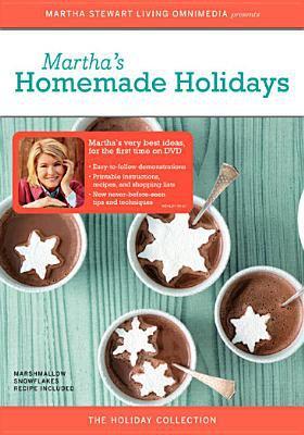 Martha Stewart: Martha's Homemade Holidays 9781419816277