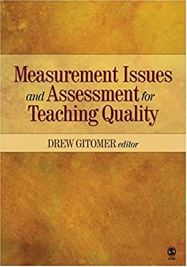 Measurement Issues and Assessment for Teaching Quality 9781412961448