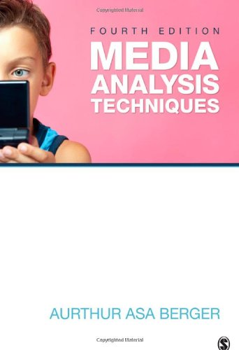 Media Analysis Techniques 9781412987769