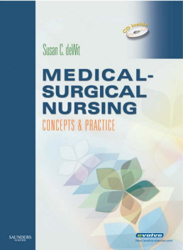 Medical-Surgical Nursing: Concepts and Practice [With CDROMWith Paperback Book] 9781416032236