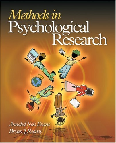 Methods in Psychological Research 9781412924856