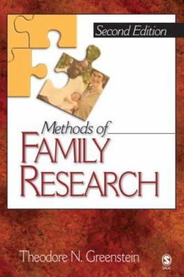 Methods of Family Research 9781412916776