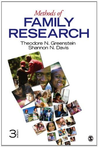 Methods of Family Research - 3rd Edition