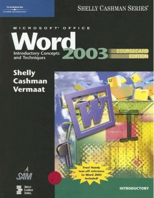 Microsoft Office Word: Introductory Concepts and Techniques 9781418843557