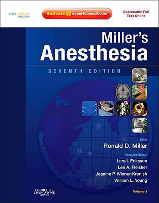 Miller's Anesthesia: Expert Consult Premium Edition - Enhanced Online Features and Print, 2-Volume Set 9781416066248
