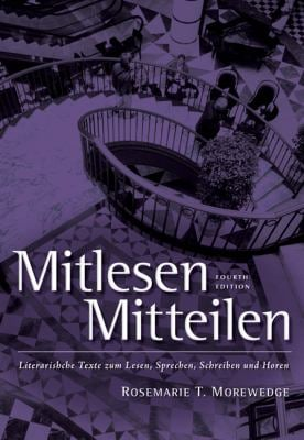 Mitlesen-Mitteilen: Literarische Texte Zum Lesen, Sprechen, Schreiben Und Horen [With CD]