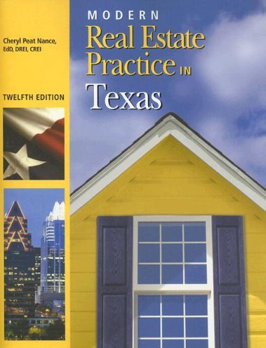 Modern Real Estate Practice in Texas 9781419504525