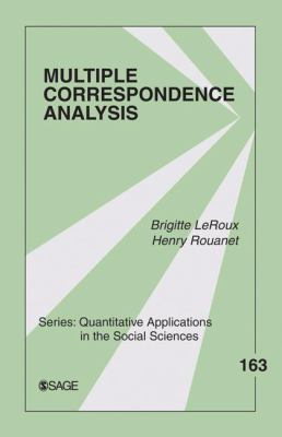 Multiple Correspondence Analysis 9781412968973