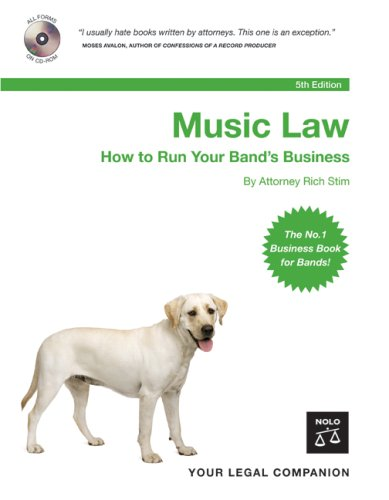 Music Law: How to Run Your Band's Business [With CDROM] 9781413305173