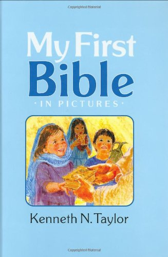 My First Bible in Pictures, Baby Blue 9781414305929