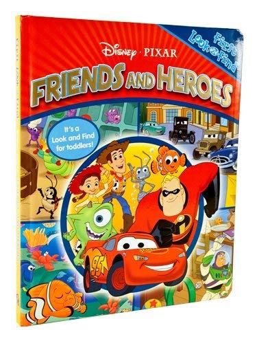 My First Look & Find: Disney Pixar Friends & Heroes 9781412768481