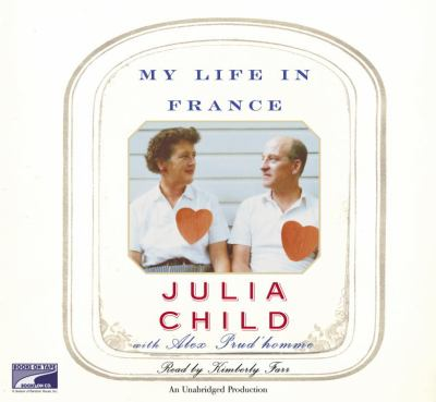 My Life in France (Lib)(CD) 9781415927243