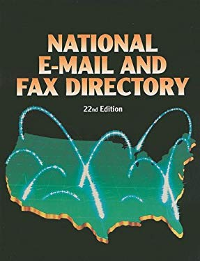 National E-mail and Fax Directory 9781414421445