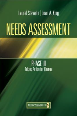 Needs Assessment Phase III: Taking Action for Change (Book 5)