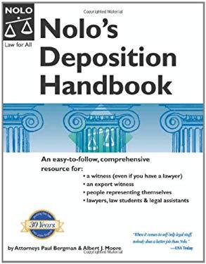 Nolo's Deposition Handbook 9781413301786