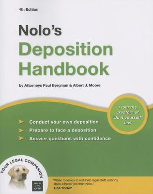 Nolo's Deposition Handbook 9781413306262