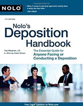 Nolo's Deposition Handbook 9781413311990