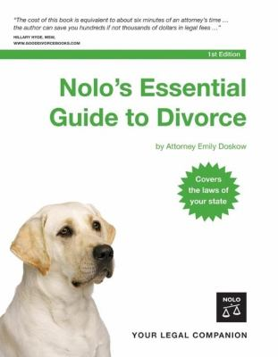 Nolo's Essential Guide to Divorce 9781413304527