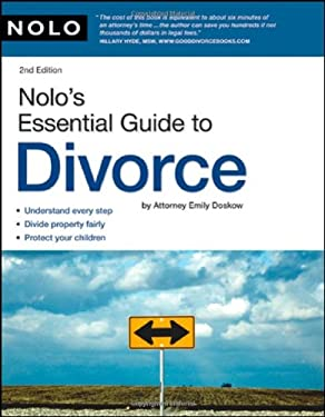 Nolo's Essential Guide to Divorce 9781413308914