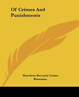 Of Crimes and Punishments 9781419137761