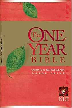 One Year Premium Slimline Bible-NLT-Large Print 10th Anniversary 9781414312446