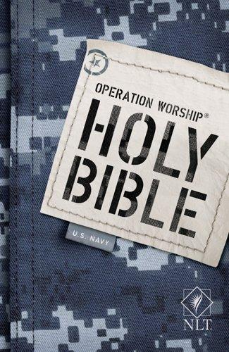 Operation Worship Bible-NLT-Navy 9781414333854