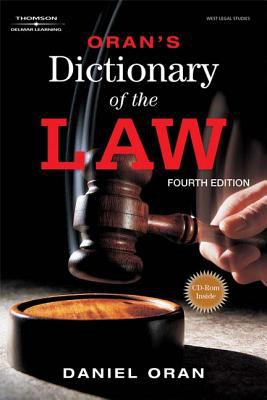 Oran's Dictionary of the Law 9781418080914