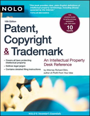 Patent, Copyright & Trademark 9781413309201