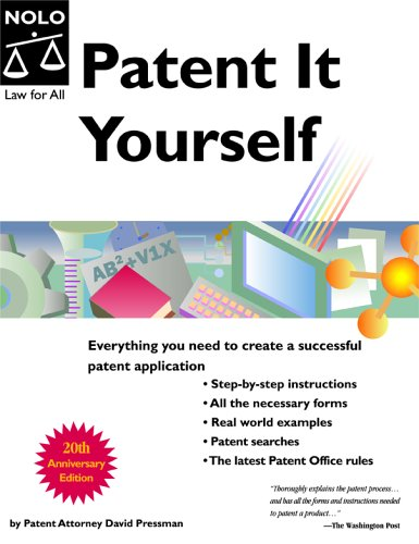 Patent It Yourself 9781413301809