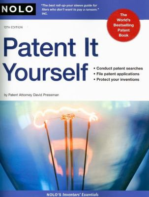 Patent It Yourself 9781413308549