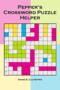Pepper's Crossword Puzzle Helper 9781418410957
