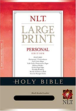 Personal Edition Large Print Bible-NLT 9781414312484