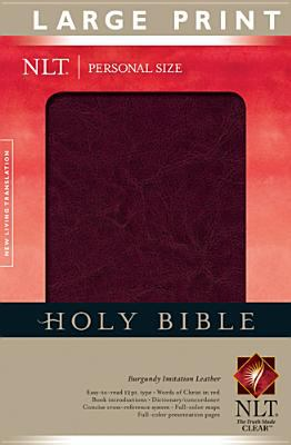 Personal Size Large Print Bible-NLT 9781414314044