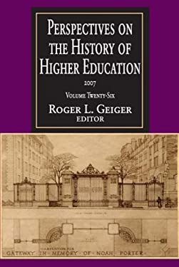 Perspectives on the History of Higher Education 9781412807326