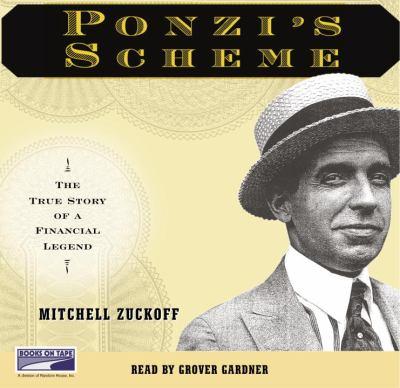 Ponzi's Scheme (Lib)(CD) 9781415916308