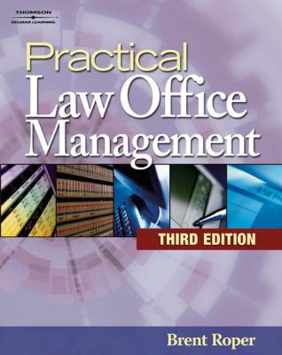 Practical Law Office Management [With CDROM] 9781418029708