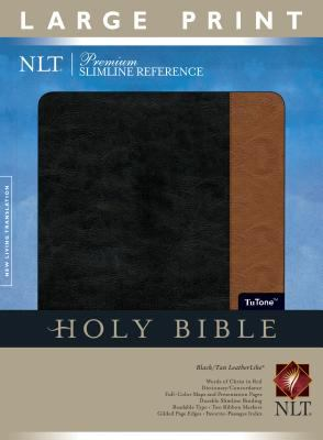 Premium Slimline Reference Bible-NLT-Large Print 9781414313962