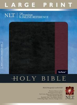 Premium Slimline Reference Bible-NLT-Large Print 9781414313979