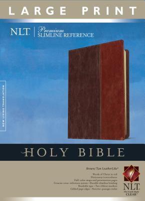 Premium Slimline Reference Bible-NLT-Large Print 9781414313986