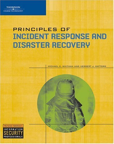 Principles of Incident Response and Disaster Recovery 9781418836634