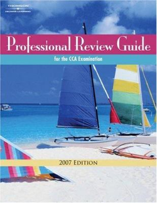 Professional Review Guide for the CCA Examination [With CDROM] 9781418074272
