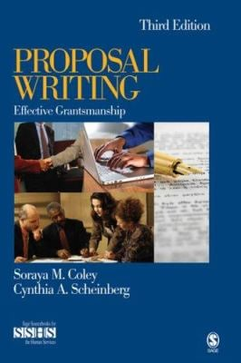 Proposal Writing: Effective Grantsmanship 9781412937757