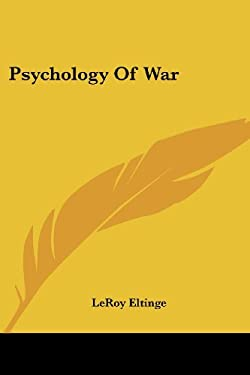Psychology of War 9781417959631